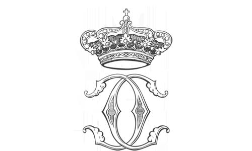 Real Casa di Borbone delle Due Sicilie - Monogramma delle LL.AA.RR. i Principi Carlo e Camilla di Borbone delle Due Sicilie