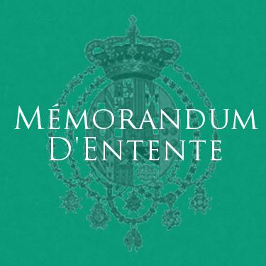Real Casa di Borbone delle Due Sicilie - Memorandum d'entente