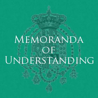 Real Casa di Borbone delle Due Sicilie - Memoranda of Understanding