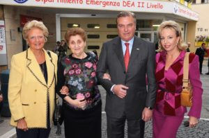 The Royal Family with President Mariella Enoc
