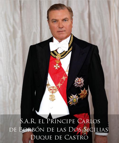 Real Casa di Borbone delle Due Sicilie - S.A.R. il Principe Carlo di Borbone delle Due Sicilie